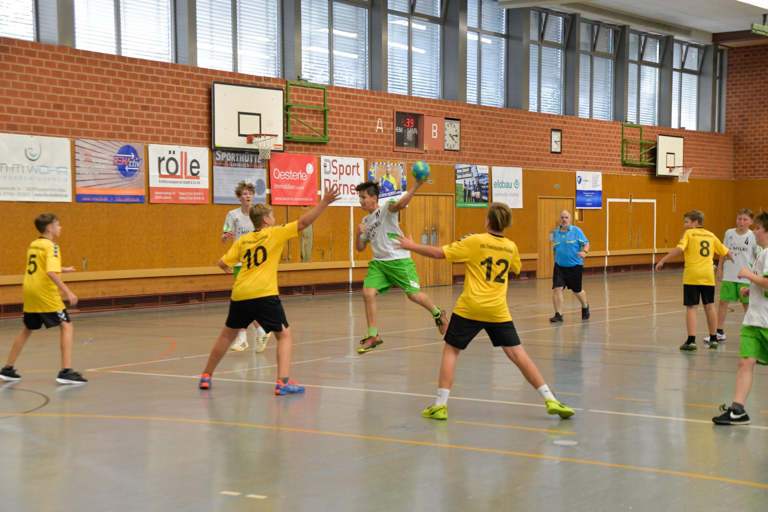 Headerabbildung vom Spiel männlichen C-Jugend gegen Friedrichshafen-Fischbach 2